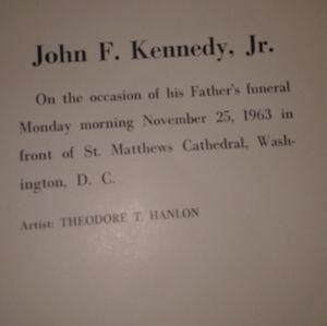 COPY - John f. Kennedy Jr. Print